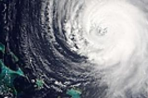 """Над Атлантикой """"разошелся"""" ураган """"Билл"""""""
