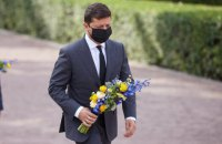 Зеленський взяв участь у заходах з нагоди 79-ї річниці вшанування жертв трагедії Бабиного Яру