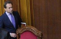 Опозиція вимагає від Литвина письмових гарантій блокування закону про мову