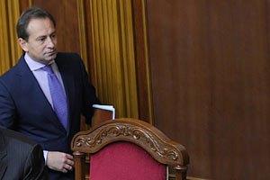 Оппозиция требует от Литвина письменных гарантий блокирования закона о языке