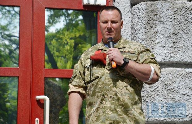 Свирид Анатолий - главный сержант 1-ой роты 90-го отдельного аэромобильного батальйона 95ой бригады