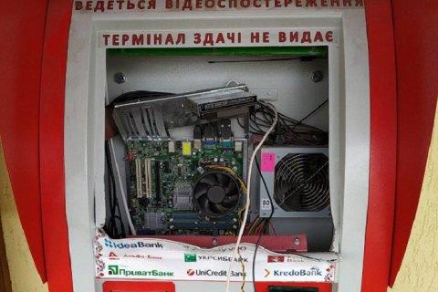 У Закарпатській області затримали банду грабіжників терміналів I-Box