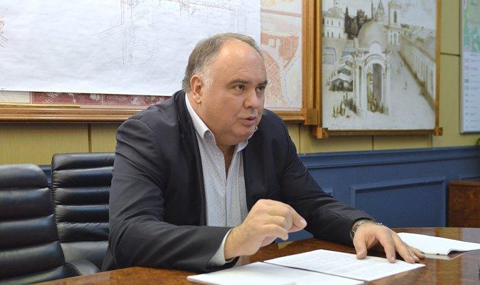 Голова Подільської РДА Віктор Смирнов