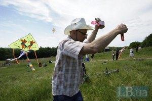 В Пирогово соревновались поклонники воздушных змеев