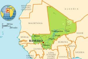 В Мали произошел первый с начала французской военной операции теракт