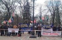 Профсоюз шахтеров устроил пикет Верховной Рады