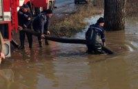 ДСНС відзвітувала про проходження піку паводку на Закарпатті