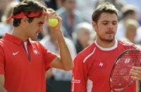 Федерер и Вавринка вышли вперед в противостоянии с Францией