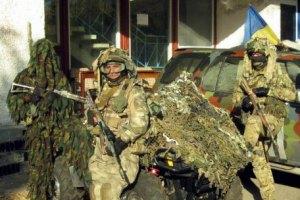 """ДУК """"Правый сектор"""" отошел от линии соприкосновения с боевиками"""