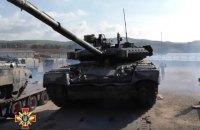 Українські танки і БТРи прибули до Німеччини на навчання Combined Resolve Х