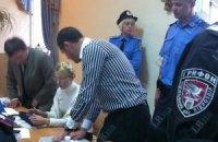 Защита Тимошенко пришла в суд без материалов дела