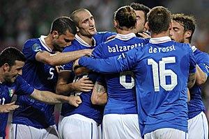 Италия - в четвертьфинале Евро-2012