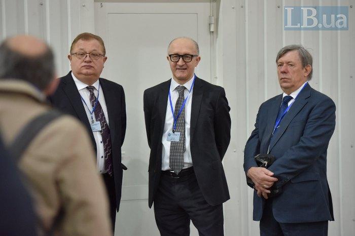Члени ВККС: Степан Гладій, Сергій Козьяков (голова) та Михайло Макарчук
