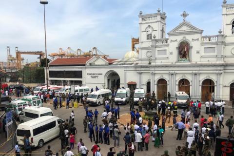Українців немає серед жертв вибухів на Шрі-Ланці, - МЗС (оновлено)