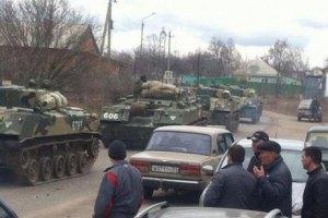 Росія заперечує концентрацію військ на кордоні з Україною