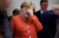 Почти половина немцев хочет отставки Меркель до завершения ее четвертого срока, - опрос