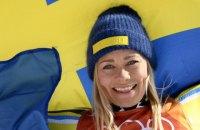 Шведская горнолыжница Фрида Хансдоттер завоевала «золото» Пхёнчхана в слаломе