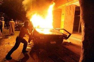 При штурме израильского посольства погибли 4 египтян