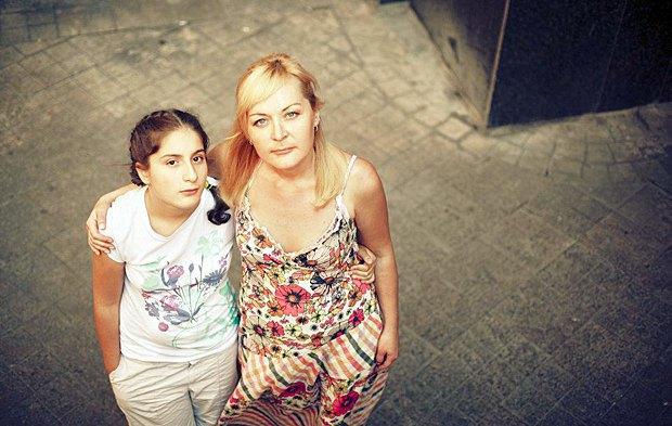 Архив: Яна Панфилова с мамой Ольгой