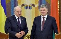 Порошенко поговорил с Лукашенко по телефону