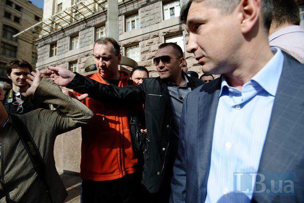 Александр Лищенко (справа)