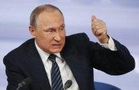 Путин заявил о народном одобренни репрессивных мер МВД