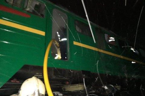 У Житомирській області вночі горів локомотив пасажирського потяга Львів - Бахмут (оновлено)