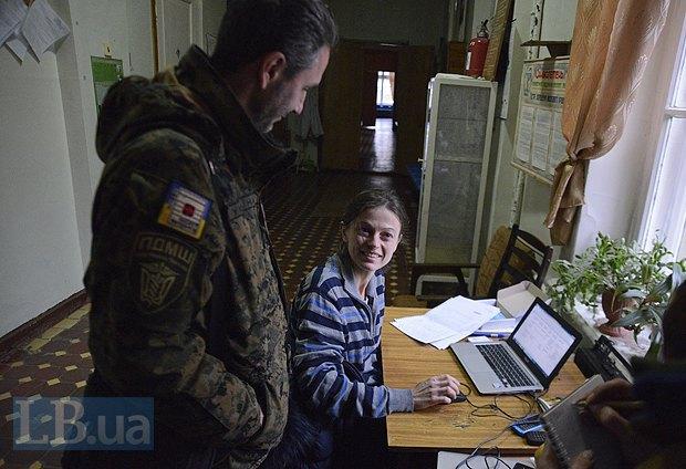 Леся Каспрук, жена Андрея, раньше работала в прокуратуре