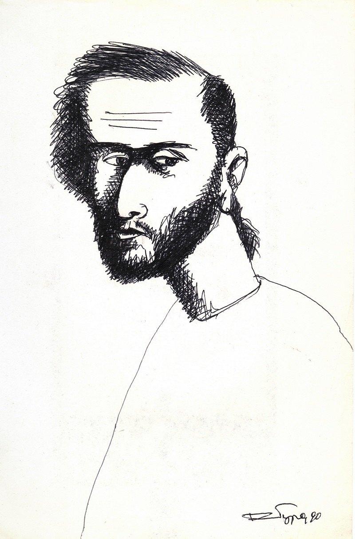 Александр Ройтбурд, Автопортрет (1990)