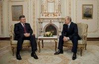 Янукович проводит неформальную встречу с Путиным