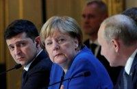 Меркель у розмові з Путіним вимагала зупинити нарощення військової міці на кордонах України (оновлено)
