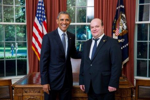 Обама принял верительные грамоты от посла Украины в США