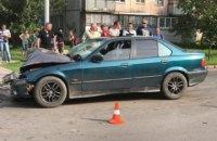 В сети появилось видео ДТП в Черкассах, в котором погибла семья полицейского