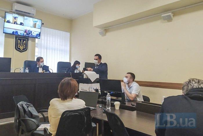 Під час засідання суду