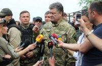 Порошенко готов возобновить режим прекращения огня на востоке