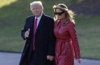 Трамп із дружиною запустили офіційний сайт 45-го президента США