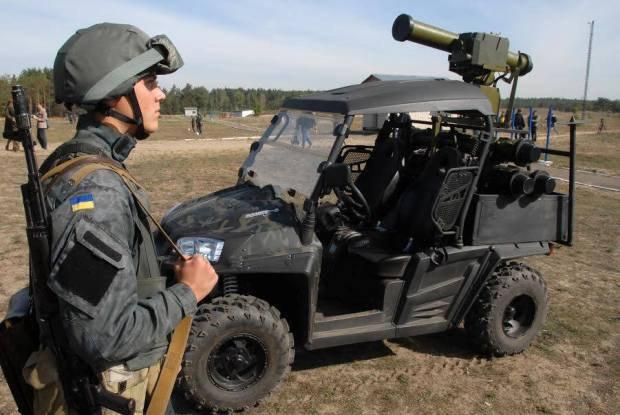 """Мобильный противотанковый комплекс """"Стугна-П"""""""
