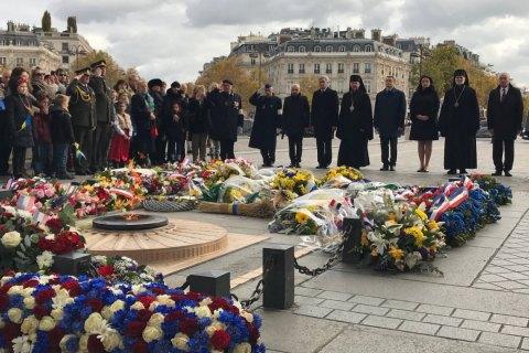 В центре Парижа почтили жертв Голодомора