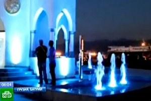 В Батуми открыли фонтан с чачей