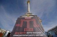 На Майдані вшанували пам'ять жертв геноциду кримських татар