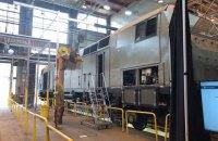 General Electric изготовила первый локомотив для Украины