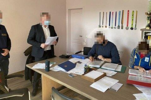 Прокуратура проводить обшуки в Департаменті молоді та спорту КМДА із одночасним врученням підозр