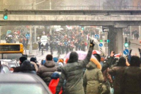 У Мінську та інших білоруських містах затримали понад 260 протестувальників (оновлено)