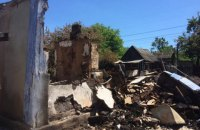 Боевики целенаправленно уничтожают поселок Пивденное, который недавно освободили силы ООС