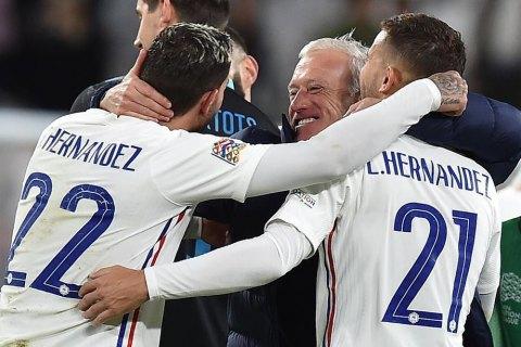 Франція драматично стала другим фіналістом Ліги націй (оновлено)
