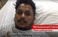 Выживший при крушении самолета в Пакистане рассказал, как ему удалось спастись