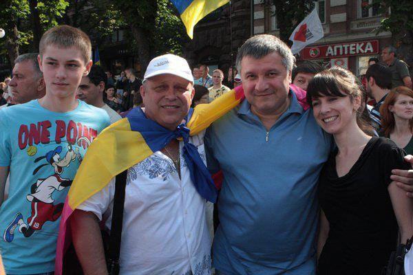 Лето 2010. Киев. У Печерского судилища...