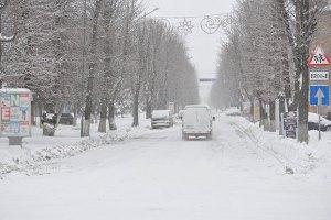 В среду в Киеве небольшой снег