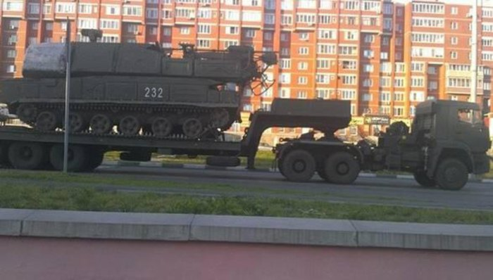 Ракетная система «Бук» с бортовым номером 232, которой был сбит MH17, прибыла из России