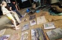 Із Широкиного евакуювали колекцію картин, яку вважали втраченою